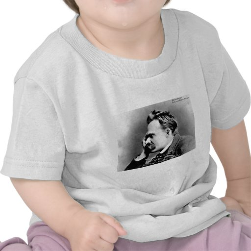 """Nietzsche """"A Why"""" Wisdom Quote Gifts & Cards T-shirt"""