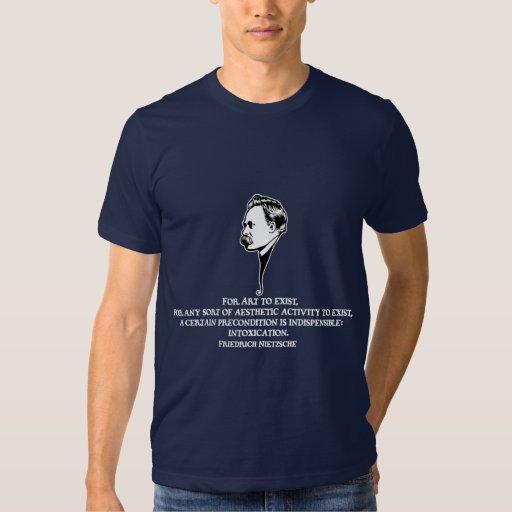 Nietzsche-art-1-DKT Tee Shirt