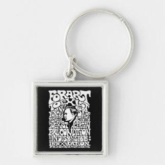 Nietzsche - Art Keychain