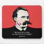 Nietzsche - Art v. Reality Mouse Pad