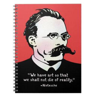 Nietzsche - Art v. Reality Notebook