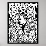 Nietzsche - arte póster