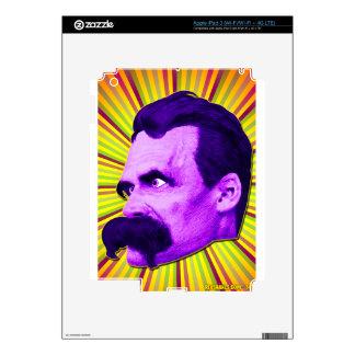 Nietzsche Burst! Yellow & Purple & Bursty! Decals For iPad 3