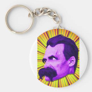 Nietzsche Burst Yellow Purple Bursty Key Chains