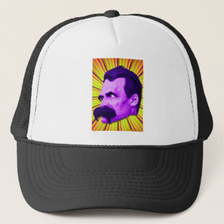 Nietzsche Burst! Yellow & Purple & Bursty! Trucker Hat