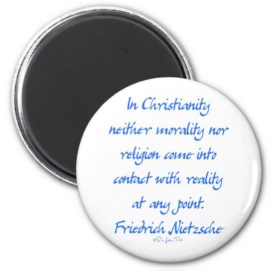 Nietzsche Christianity Magnet