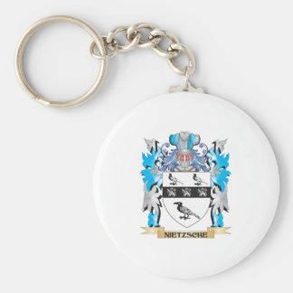 Nietzsche Coat of Arms - Family Crest Key Chain