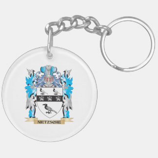 Nietzsche Coat of Arms - Family Crest Acrylic Keychain
