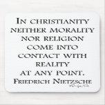 Nietzsche en cristianismo alfombrillas de raton