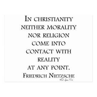 Nietzsche en cristianismo postal