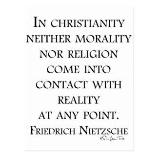 Nietzsche en cristianismo postales