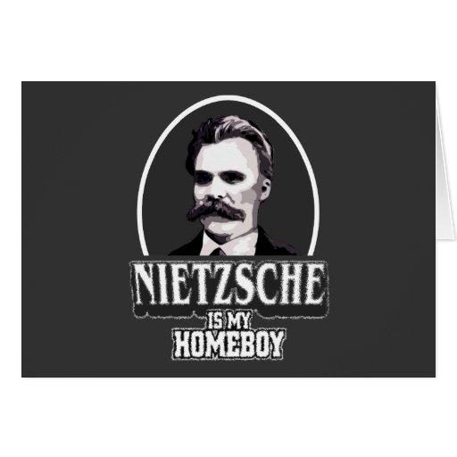Nietzsche es mi Homeboy Felicitación