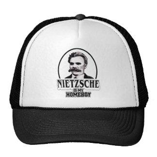 Nietzsche es mi Homeboy Gorras De Camionero