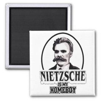 Nietzsche es mi Homeboy Imán Cuadrado