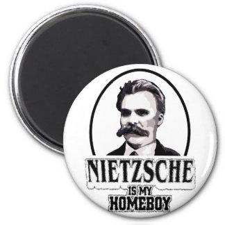 Nietzsche es mi Homeboy Imán Redondo 5 Cm