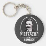 Nietzsche es mi Homeboy Llavero