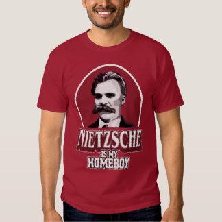Nietzsche es mi Homeboy Playera