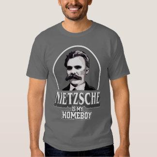 Nietzsche es mi Homeboy Playeras