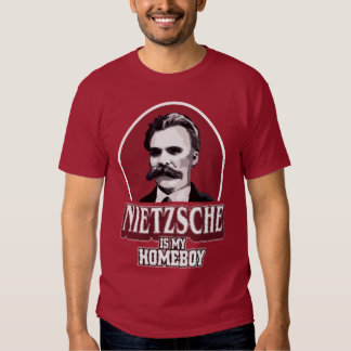 Nietzsche es mi Homeboy Poleras