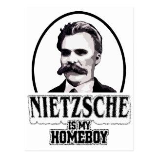 Nietzsche es mi Homeboy Tarjeta Postal
