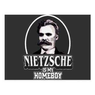 Nietzsche es mi Homeboy Tarjetas Postales