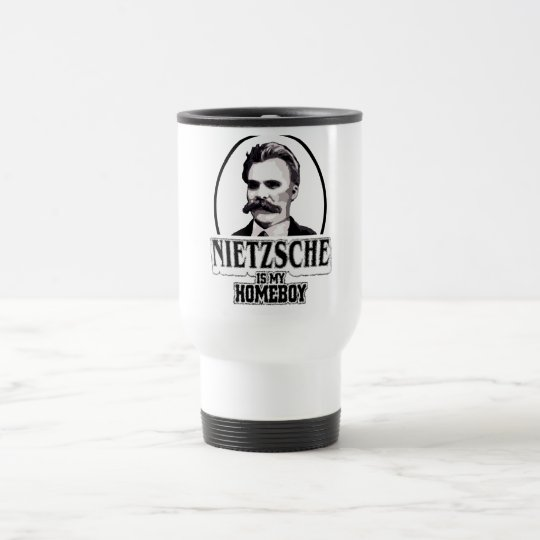 Nietzsche es mi Homeboy Taza De Viaje
