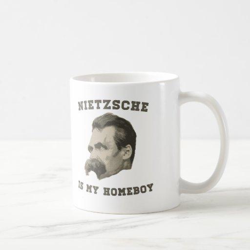 Nietzsche es mi taza del Homeboy