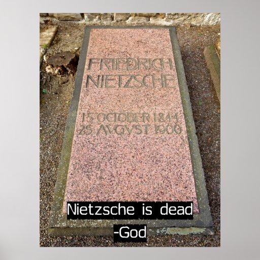 Nietzsche es muerto póster