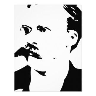 Nietzsche Face Custom Letterhead