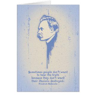Nietzsche Illusions Cards