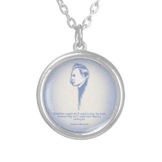 Nietzsche Illusions Custom Necklace