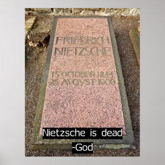 Nietzsche is Dead Poster