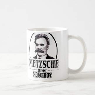 Nietzsche Is My Homeboy Classic White Coffee Mug