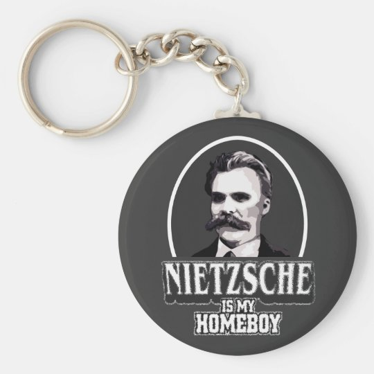 Nietzsche Is My Homeboy Keychain