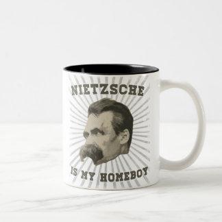 Nietzsche Is My Homeboy Mug