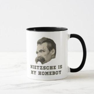 Nietzsche Is My Homeboy Portrait Mug
