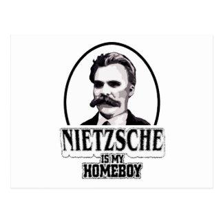 Nietzsche Is My Homeboy Postcard