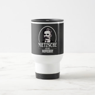 Nietzsche Is My Homeboy Travel Mug