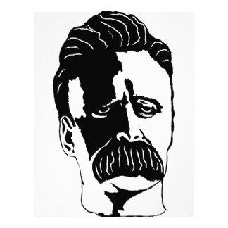 Nietzsche Personalized Letterhead