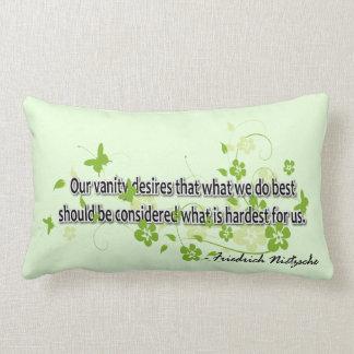 Nietzsche Lumbar Pillow
