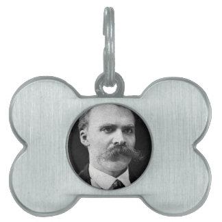 Nietzsche Placa De Mascota