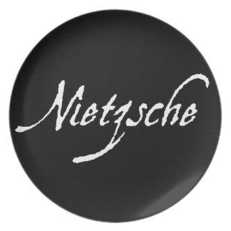 """NIETZSCHE"" MELAMINE PLATE"