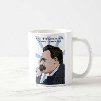 Nietzsche mug shot