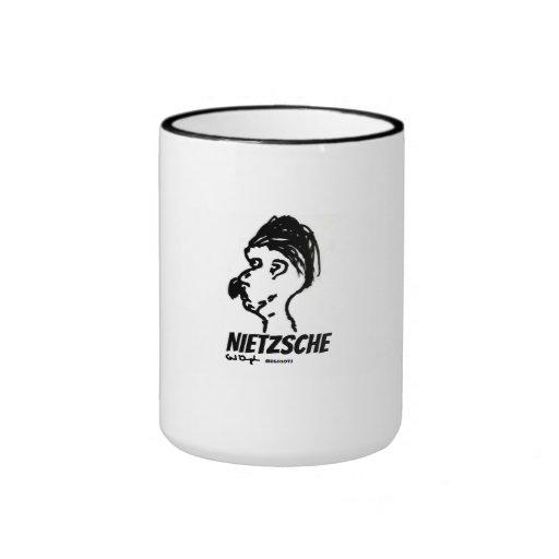 Nietzsche Mugshot Mug (Wise Ache Creations)
