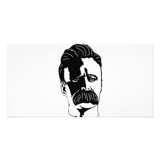 Nietzsche Custom Photo Card