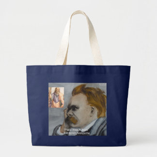 "Nietzsche ""Plato=Bore"" Quote Gifts Tees Mugs Etc Canvas Bag"