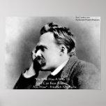 """Nietzsche """"porqué"""" poster de la cita de la"""