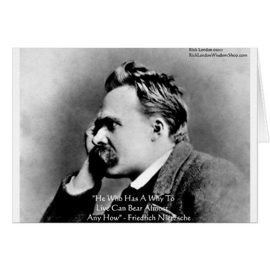 """Nietzsche """"porqué"""" regalos y tarjetas de la cita d"""