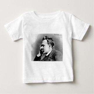 """Nietzsche """"porqué"""" regalos y tarjetas de la cita playera de bebé"""