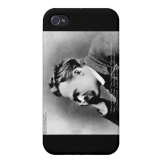 "Nietzsche ""Pride Vs Memory"" Wisdom Quote Gifts/Tee iPhone 4/4S Case"